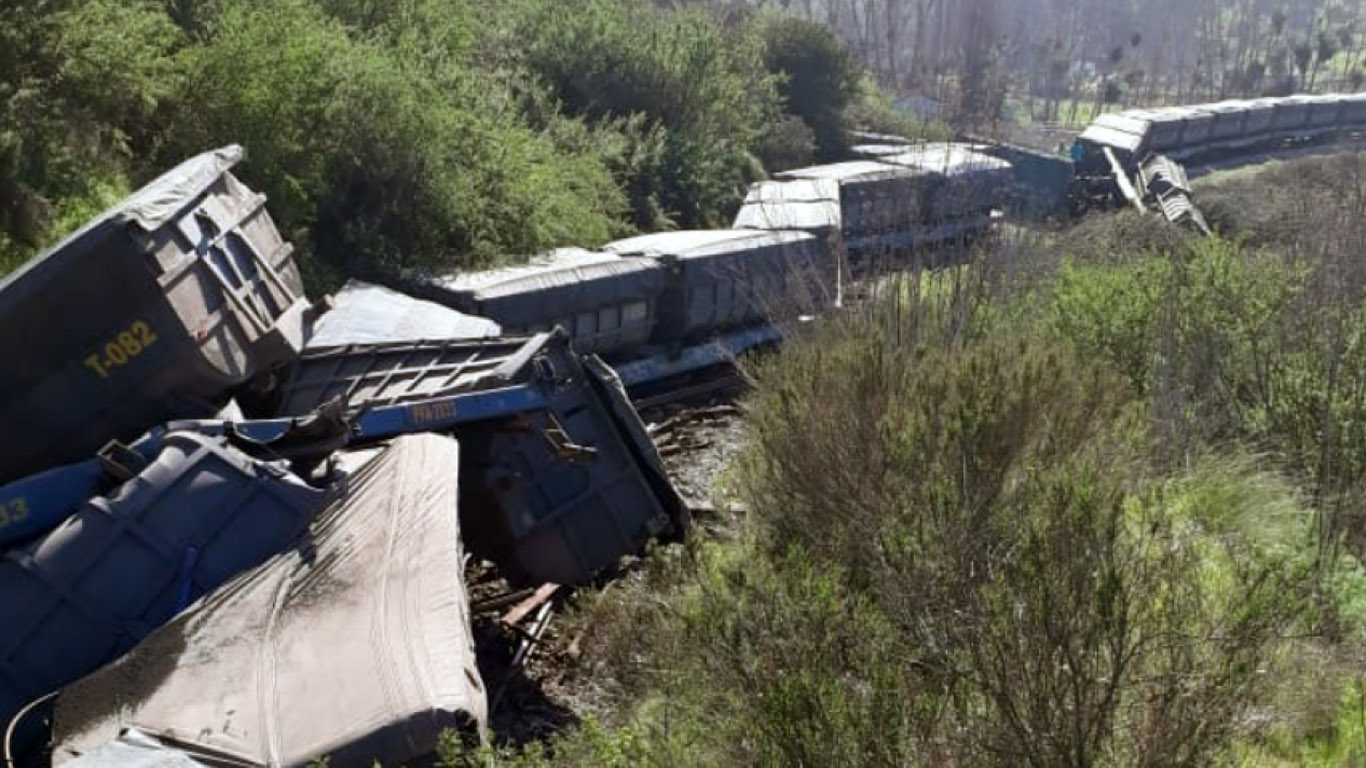 tren descarrila en quillota